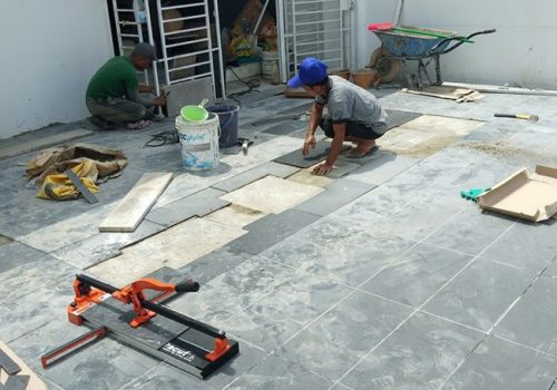 Floor Tiles Installation Works