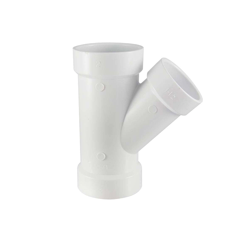 UPVC Fittings 135° Y-Tee (Y Branch)