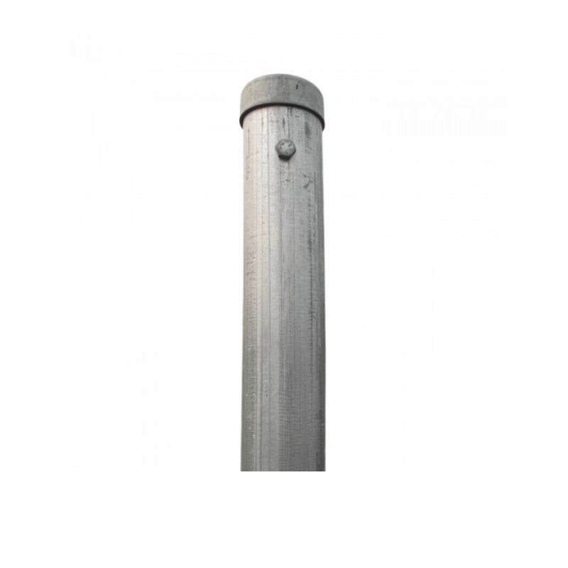 Galvanized Security Fence Round Post