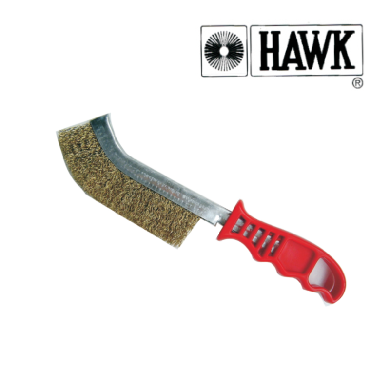 Hawk Brass Wire Brush
