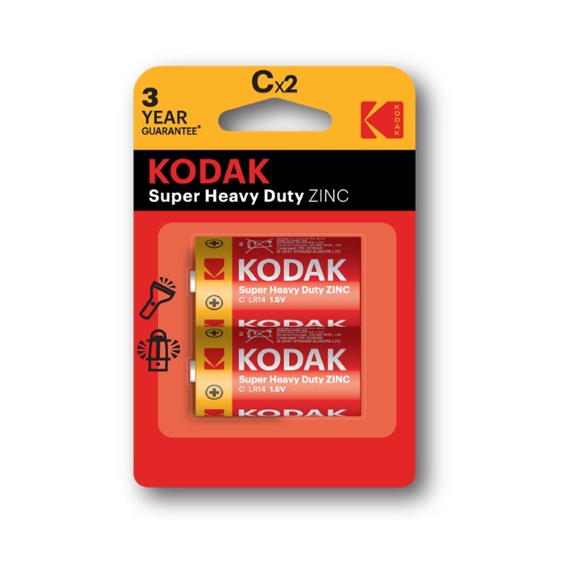KODAK Zinc C Super Heavy Duty Battery 1.5V
