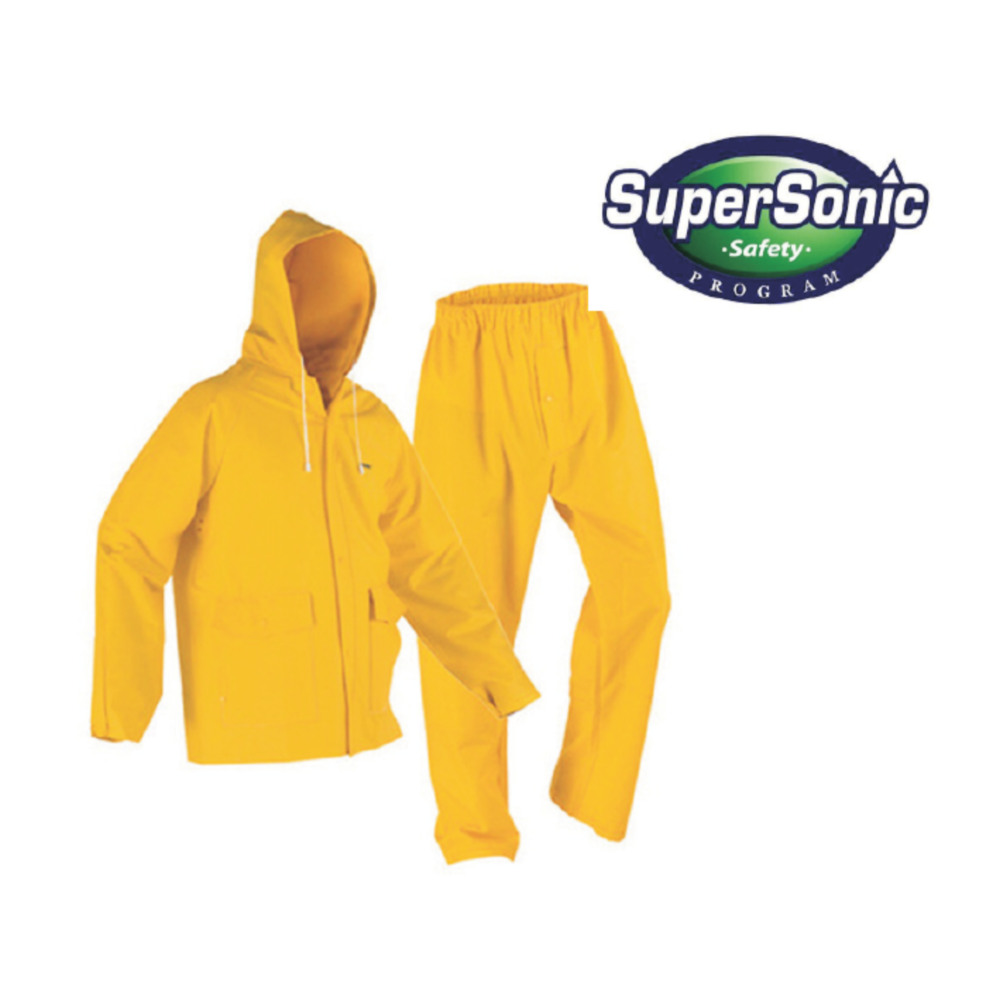 Supersonic PVC Rain Coat & Trouser