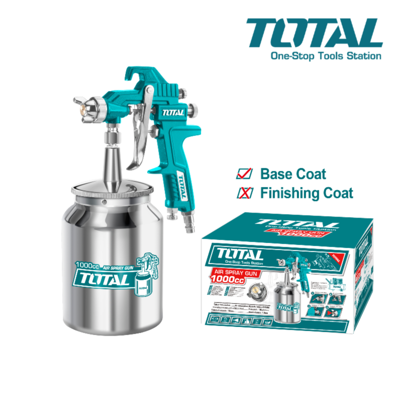 TOTAL 1000CC Air Spray Gun